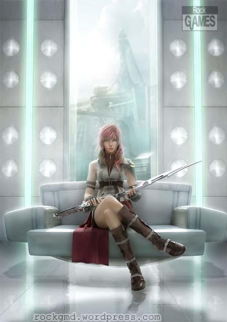 Jogo perfeito, amo a série Final Fantasy