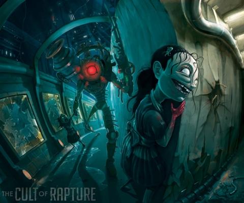 Primeira ilustração feita por Jhonen Vasquez